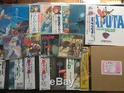 14 GHIBLI LP Vinyl Signed by Joe Hisaishi Hayao Miiyazaki autograph totoro kiki