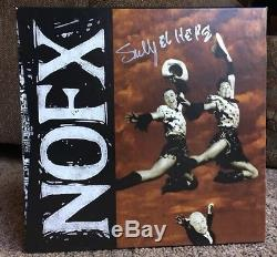30 Year Anniversary Box Set by NOFX Signed Pink Vinyl