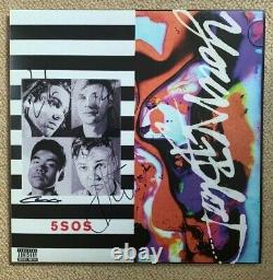 5 SECONDS OF SUMMER SIGNED/AUTOGRAPHED'Youngblood' VINYL