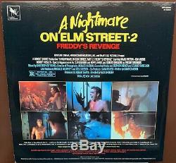 A Nightmare On Elm Street Part 1, 2 & 3 Vinyl Soundtrack MINT Horror Autographed