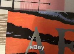 AFI BLACK SAILS IN THE SUNSET DAVEY HAVOK SIGNED vinyl LP autographed punk