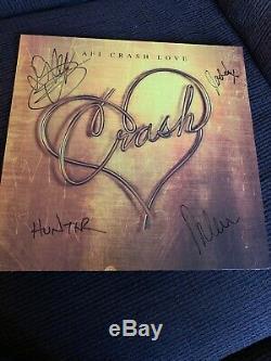 AFI Crash Love Vinyl Lp Signed Auographed A Fire Inside MINT