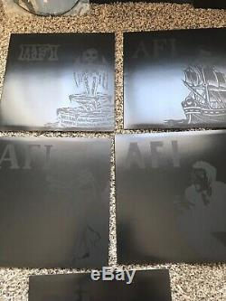 AFI Deluxe Vinyl Boxed Set- SIGNED BY THE BAND