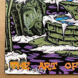 AFI Signed The Art Of Drowning Grey Marble Vinyl Record LP First Press Autograph
