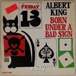 ALBERT KING Born Under A Bad Sign US Stax 723 Promo Mono Orig LP NM Vinyl Blues