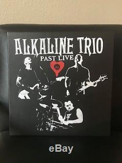 ALKALINE TRIO PAST LIVE BOX SET 8x LP COLORED VINYL OOP SIGNED POSTER