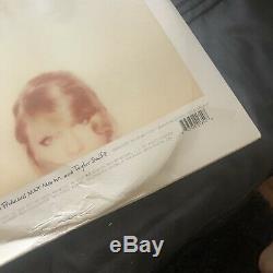 AUTOGRAPHED 1989 (Limited Pink Vinyl LP) Taylor Swift HAND SIGNED damaged