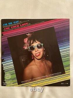 AUTOGRAPHED Katy Perry 7'' pink vinyl Ur So Gay rare promo