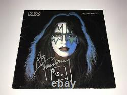 Ace Frehley Rare Signed Original Solo Vinyl Record Kiss Autograph Free Shipping