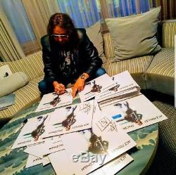 Ace Frehley SIGNED Spaceman BLUE Vinyl Exclusive LIMITED TO 500 COPIES with BONUS