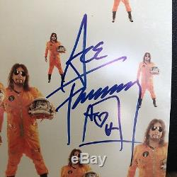 Ace Frehley Spaceman Signed Orange Vinyl Record 2018 New Rare KISS Autographed