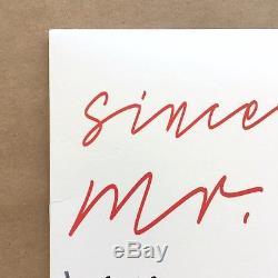 Action Bronson Signed Mr Wonderful Black Vinyl Record LP Autograph Hip Hop with CD