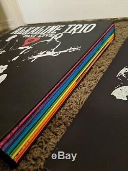 Alkaline Trio Past Live 8 Vinyl Box Set withTour Backdrop Bag Signed Litho+ Extras