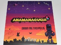 Anamanaguchi Dawn Metropolis OOP Vinyl RARE, UNPLAYED, SIGNED 1/500