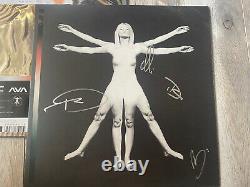 Angels and & Airwaves SIGNED Vinyl LP Lifeforms Bone Black Splatter AUTOGRAPHED
