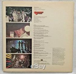 Autographed Clockwork Orange Soundtrack Vinyl Malcolm McDowell
