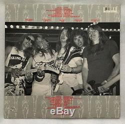 Autographed Exodus Pleasures of the Flesh Picture Disc Vinyl Entire Band