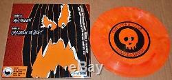 Autographed by whole band Alkaline Trio Halloween 7' Vinyl record Matt Skiba