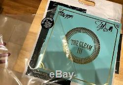 Avett Brothers The Gleam 3 III Signed Autographed LP Vinyl Record Black Vinyl
