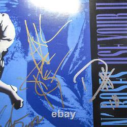 Axl Rose Slash Duff Adler Signed Guns N Roses Use Your Illusion Vinyl PROOF JSA