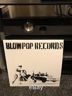 BANKSY EXTREMELY RARE BLOWPOP RECORD Vinyl un Signed Capoeira Twins