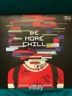 BE MORE CHILLCast Recording New Vinyl LP SIGNED IN PERSON JOE ICONIS & CAST