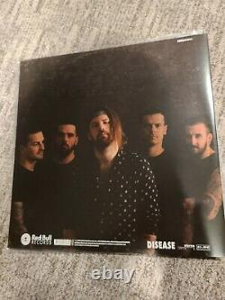 BEARTOOTH DISEASE FULLY SIGNED Colored Vinyl Record Album