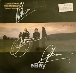 BEE GEES E. S. P. VINYL LP Autograph ALBUM SIGNED By BARRY, ROBIN & MAURICE GIBB