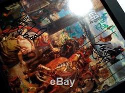 BOLT THROWER The IVth Crusade FULLY SIGNED 1st press vinyl 1992 COA