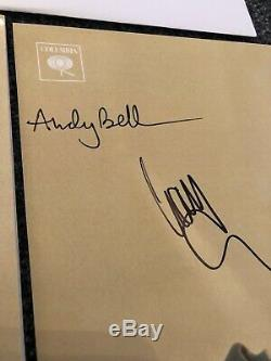 Beady Eye Liam Gallagher BE GF DOUBLE VINYL LP Record AUTOGRAPHED Signed OASIS