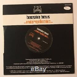 Beastie Boys Signed X3 Intergalatic Single 10' Vinyl LP JSA LOA # Z27054 MCA
