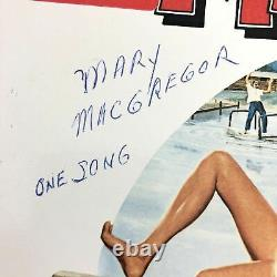 Bill Murray Signed Meatballs Soundtrack LP Vinyl PSA/DNA Album Autographed