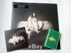 Billie Eilish When We All Fall Asleep Glow In The Dark Vinyl, Tape & Signed