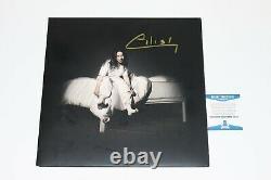 Billie Eilish When We All Fall Asleep Where Do We Go Signed Vinyl LP Beckett COA
