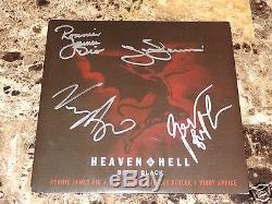 Black Sabbath Signed 7 Vinyl Ronnie James Dio Tony Iommi Geezer Heaven And Hell