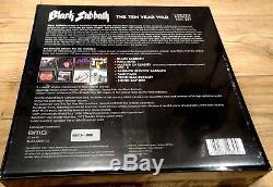 Black Sabbath Ten Year War 180g Vinyl LP LTD Box Set withSigned Print no. 73/1000