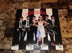 Blondie Rare Authentic Band Signed Vinyl Lp Parallel Lines Deboroah Debbie Harry
