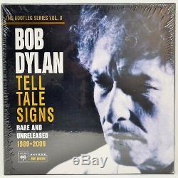 Bob Dylan TELL TALE SIGNS Bootleg Series Vol 8 LP Box Set vinyl record SEALED