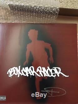 Box Car Racer Color Vinyl SIGNED AUTOGRAPHED Tom Delonge Blink-182 /1000 OOP