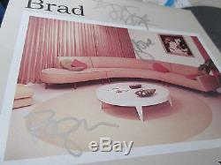 Brad Interiors US Vinyl LP Signed Copy Stone Gossard Pearl Jam Green River