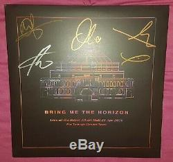 Bring Me The Horizon Live At The Royal Albert Hall Purple Vinyl, Rare, Signed