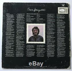 Bruce Springsteen Signed Asbury Park Vinyl Record JSA COA #Z27858 Auto