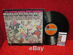 CHUCK BERRY Signed Autograph LP Record Vinyl The London Sessions Rock & Roll JSA