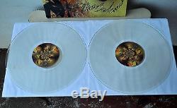 COIL Present Black Light District 2LP LE Clear Vinyl Signed Jhonn Balance Sleazy