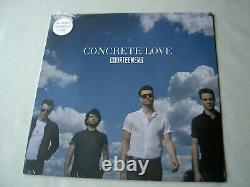 COURTEENERS Concrete Love new sealed EU 2014 white vinyl LP with signed insert