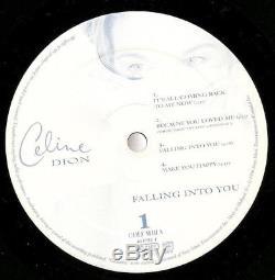Celine Dion Falling Into You (1996) Mega Rare 2 x Vinyl LP Autographed Album