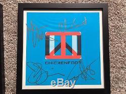 Chickenfoot Signed Autographed Albums Vinyl Records Sammy Hagar Van Halen