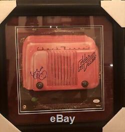 Chuck Berry Signed Vinyl Golden Decade Autographed Framed JSA