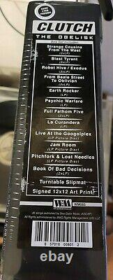 Clutch The Obelisk LP BOX SET, SEALED, SIGNED, 550 MADE, IN HAND