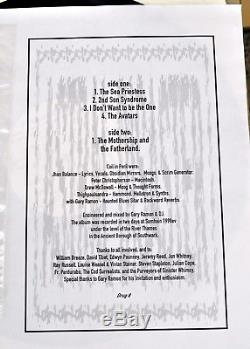 Coil Astral Disaster SIGNED John Balance/PC 1st Ed Vinyl LP 1/99 with Art RARE